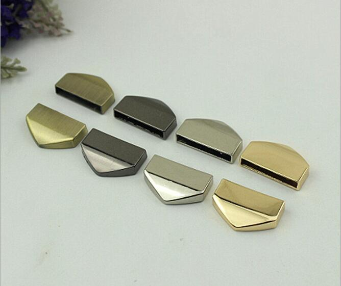 (20 Pcs/lot) Factory Wholesale Bags Leather Hardware Accessories Inner Diameter 2.5 Cm Metal Strap Tail Clip Decorative Buckle