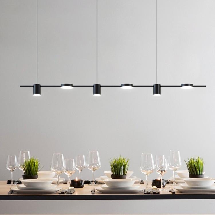 Nordic Wrought Iron Chandelier Postmodern Electroplating Gold Bronze Geometric Line Pendant Lamp Bedroom Dining Room Suspension