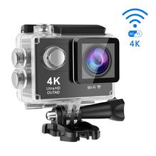 4K Ultra HD Wifi 30M Waterproof Action Camera 2 ' LTPS LCD Sports Camera 12.0 MP 170' Lens Angle HDMI Output Compact(China)