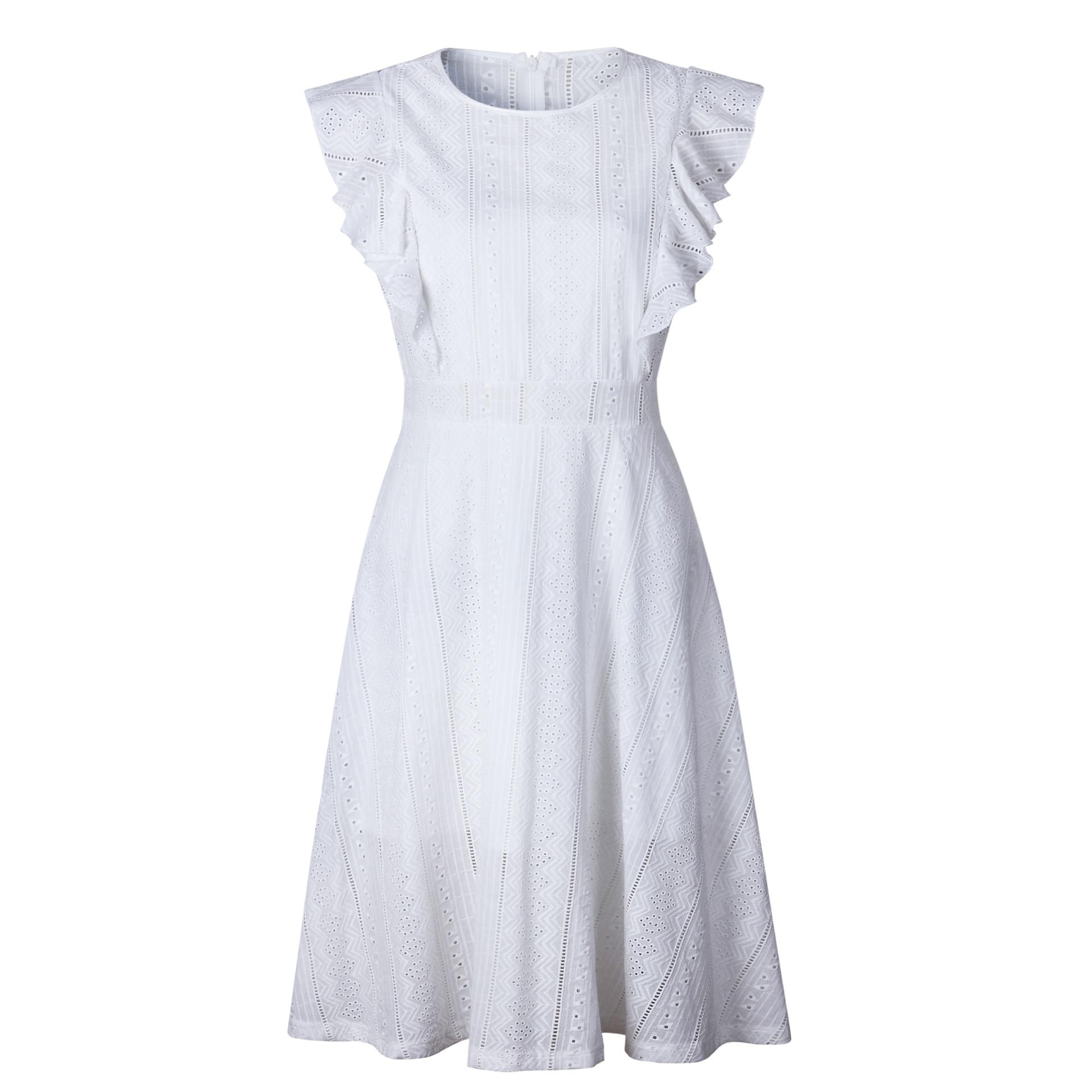 Long Midi Lace Dress