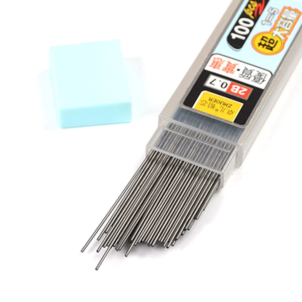 Automatic Pencil Core Lead Core 0.5/0.7mm Pen Automatic Pencil Refills School Stationery Writing Accessories