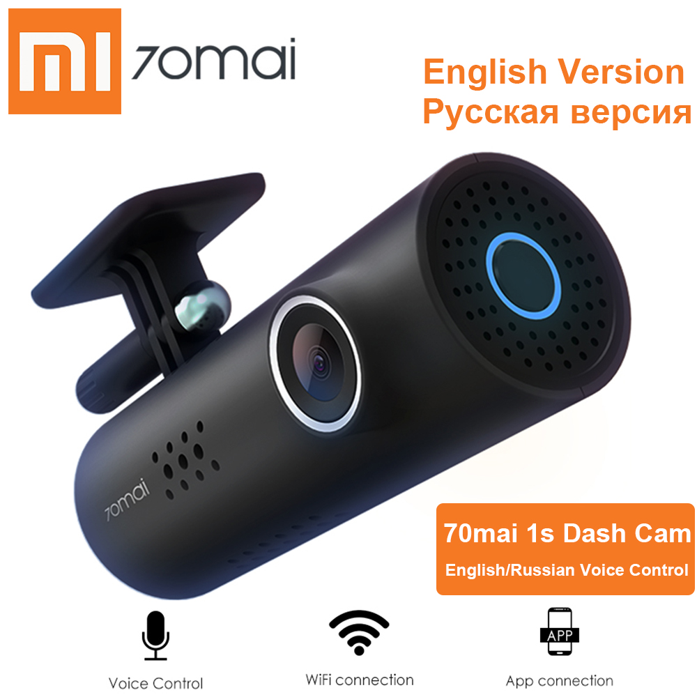 Xiaomi Car DVR Camera Video-Recorder Voice-Control Dash-Cam Wifi Starvis Russian Night-Vision