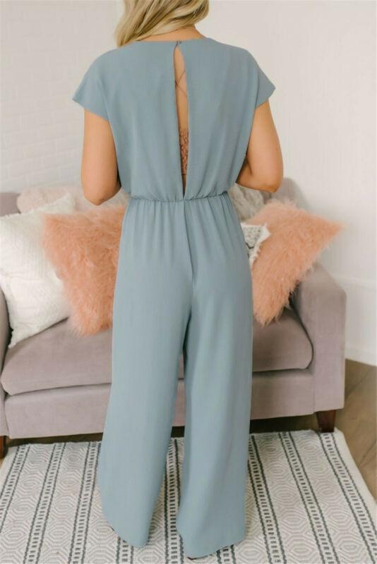 Women Ladies Clubwear Summer Playsuit Bodycon Party Jumpsuit Romper Trousers Lot