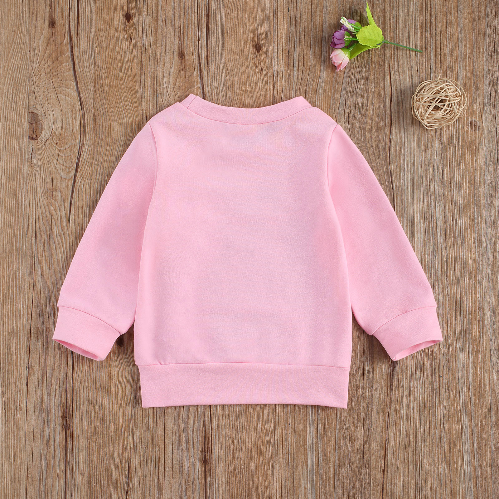 Newborn Baby Girls Boys Hoodies Infant's Round Neck Long Sleeve Sweatshirts Letter Printed Clothes Hooded Tops Autumn Winter New 2