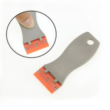 1 piece of glass cleaning tool blade car foil plastic practical metal scraper