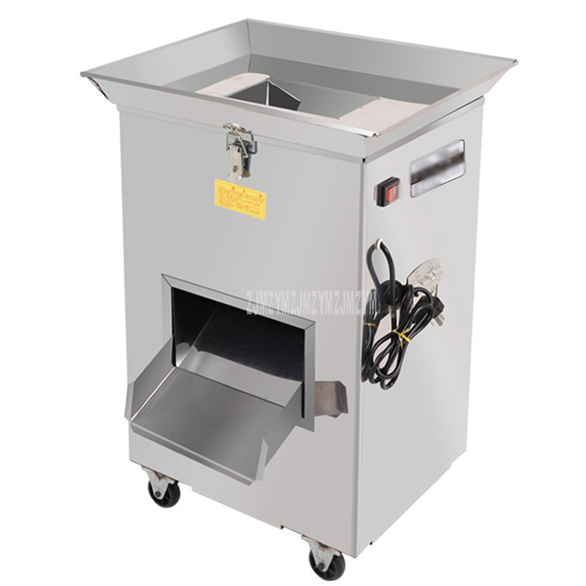 Commercial Fish Slicer Cutting Machine Special For Farm 300kg/h Efficient Automatic Fish Meat Slicing Machine 2.2kw 220V/380V
