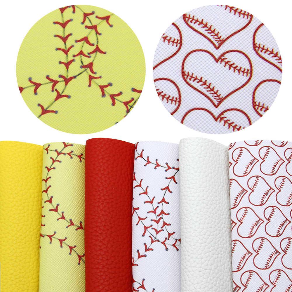 6 pçs/set 20*34cm Esporte Leopardo Impresso Glitter Folhas de Falso Tecido De Couro Sintético, materiais artesanais DIY para o saco, 1Yc7416