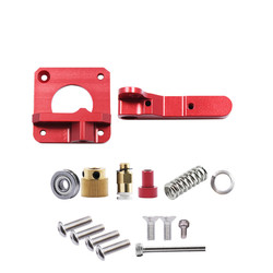 MK8 รีโมท Extruder สำหรับ 3D เครื่องพิมพ์ Full Metal Extruder Bowden ขวามือซ้าย 1.75/3.0 มม.Filament 3D เครื่องพิมพ์อะไหล่สีแดงสีแด...