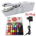 Portable Handheld Sewing Machines Stitch Sew Needlework Cordless Clothes Fabrics Mini Sewing Machine With Sewing Kits