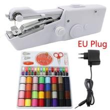 Portable Handheld Sewing Machines Stitch Sew Needlework Cordless Clothes Fabrics Mini Sewing Machine With Sewing Kits