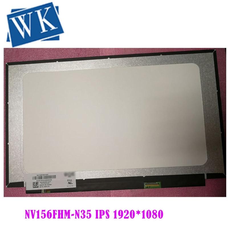 Free Shipping N156HCA-EA1 NV156FHM-N35 LP156WF9-SPF1 N156HCA-EBA NV156FHM-N61 N156HCE-EN1 N156HCA-GA2 FHD 1920*1080 IPS Screen