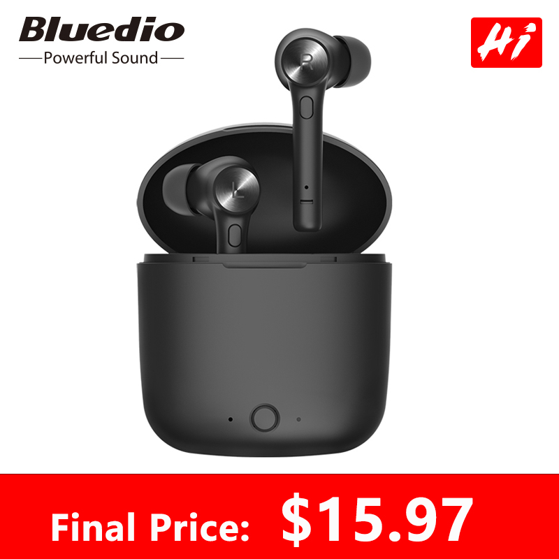 Bluedio Hi wireless bluetooth earphone for phone stereo sport earbuds headset with charging box built in microphone|Bluetooth Earphones & Headphones| |  - AliExpress