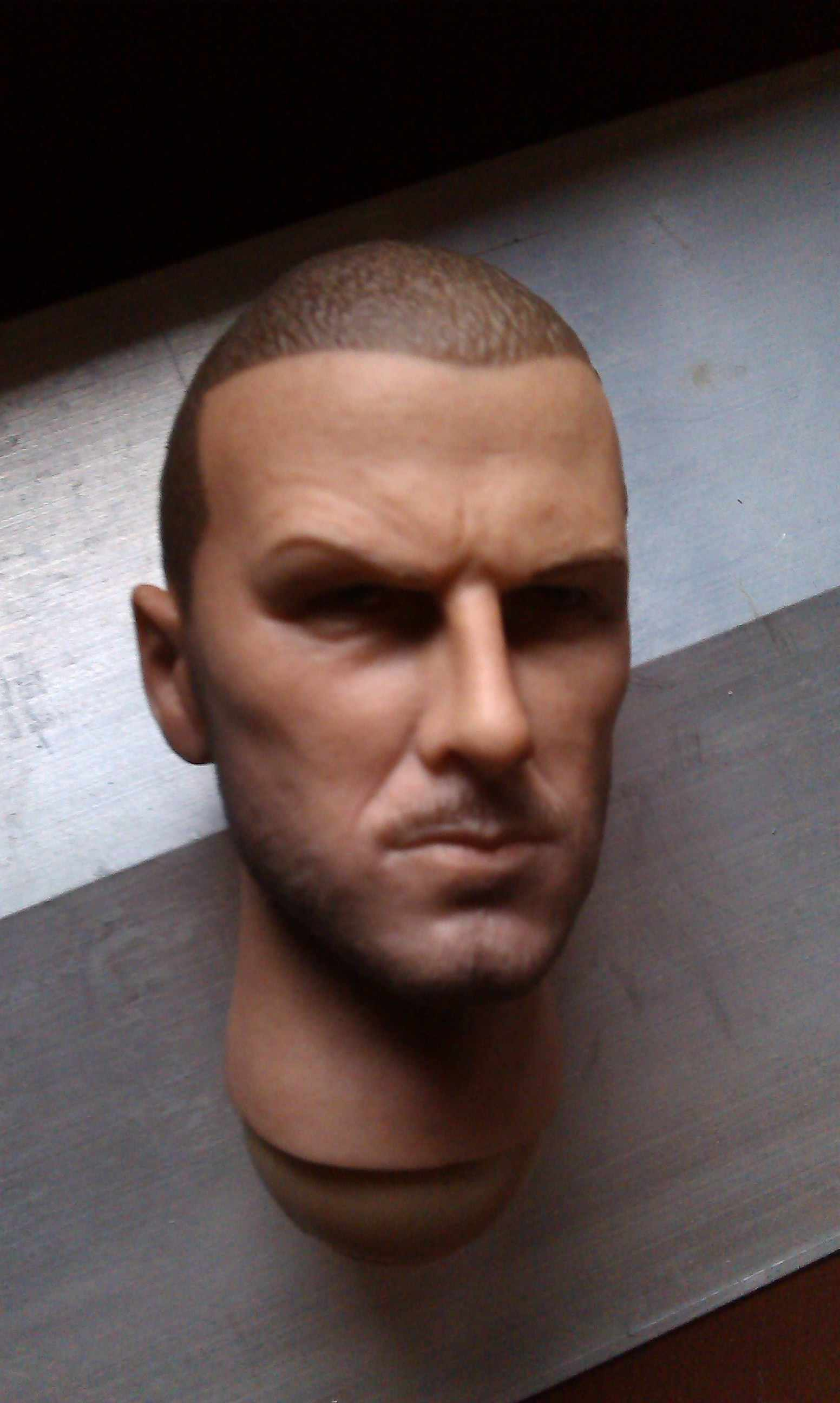 """David Beckham 1//6 star Head Sculpt Carving Model Toy for 12/"""" Action Figure Body"""