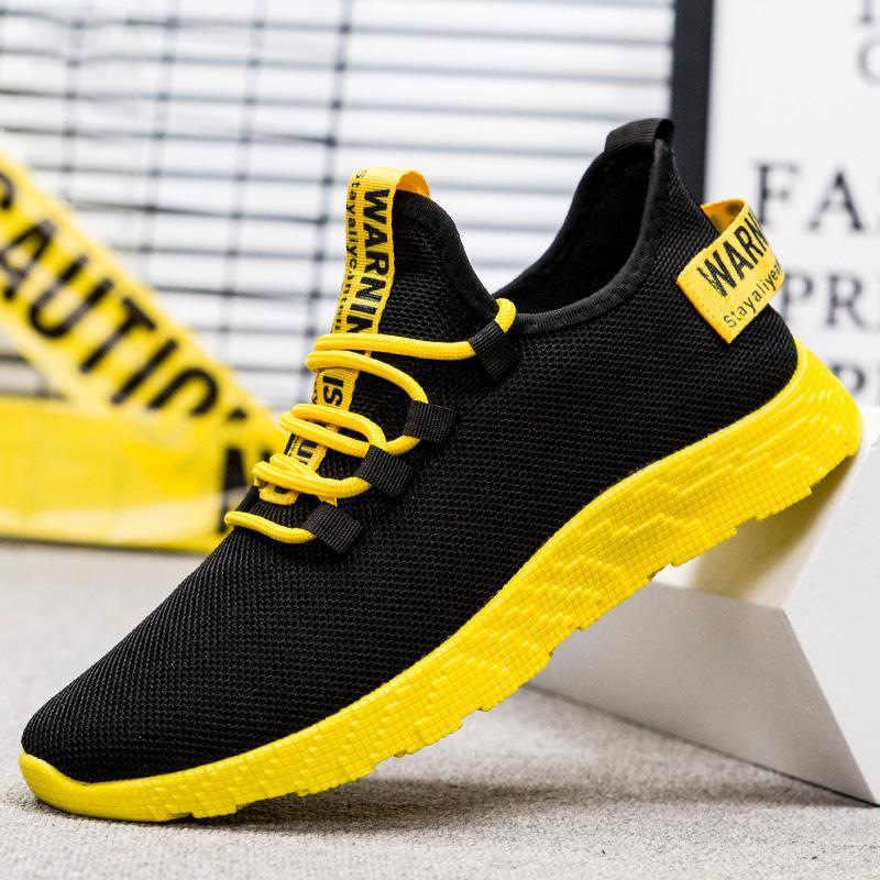 Zapatos de verano para hombre, zapatos de moda 2019, nuevo estilo, tendencia de estilo coreano, zapatillas deportivas informales, zapatillas con lámina perforada, zapatillas para correr, versátiles Cl