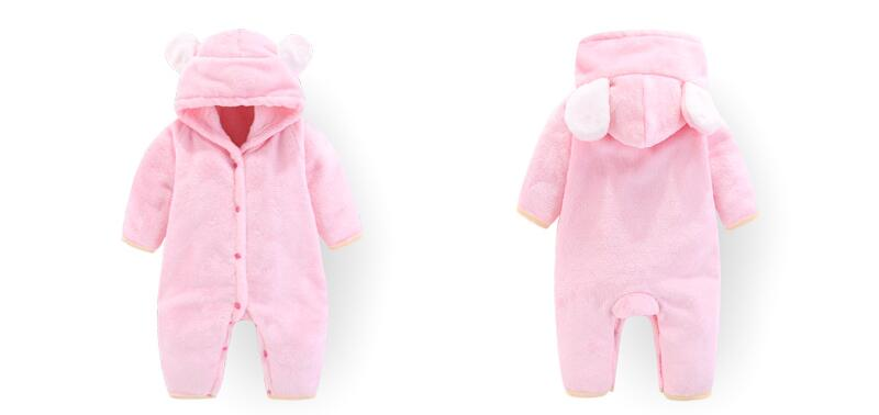 H4faa5ad520bd4f4494dfe2b82dd1e267u 2019 Newborn Baby Winter Hoodie Clothes Polyester Infant Baby Girls Pink Climbing New Spring Outwear Rompers 3m-12m Boy Jumpsuit