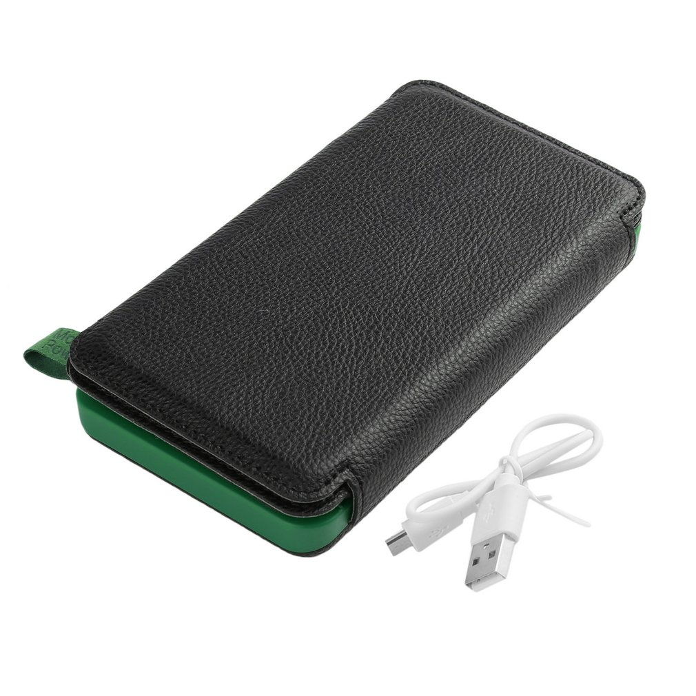 Solar Power Bank Waterproof <font><b>30000</b></font> <font><b>mAh</b></font> Three Fold Powerbank Portable Charger Power Source With Camping Light For Mobile Phone image