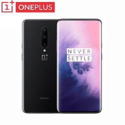 Global ROM Original Oneplus 7 Pro Smartphone 6.67 Inch 3120*1440 Android 9 Snapdragon 855 48.0 MP Cameras NFC 5V 6A Mobile Phone