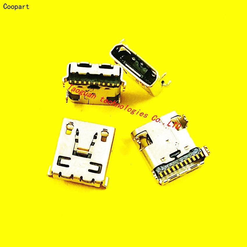 2pcs/lot Coopart New USB Charging Port Dock Connector For LG G2 D802 D801 D955 F320 VS980 D800 G3 F400 LS980 D855 LGD