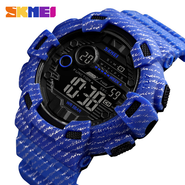 SKMEI Watch Men Digital Sport Men Wristwatches reloj hombre Two Time Chrono Alarm Hour Clock Fashion relogios Man Top Brand 1472