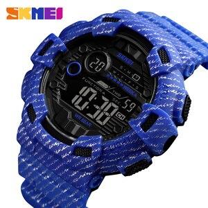 Image 1 - SKMEI שעון גברים דיגיטלי ספורט גברים שעוני יד reloj hombre שני זמן כרונו מעורר שעה שעון אופנה relogios איש למעלה מותג 1472