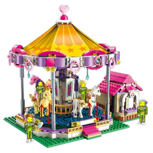 ENLIGHTEN Girls Princess Fantasy Carousel Building Blocks Sets Bricks Model Classic Compatible Friends Xmas Christmas