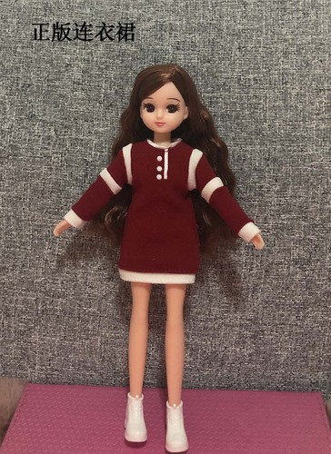 1/6 clothes For Dolls For Licca doll Momoko Doll Blyth doll clothes Jumpsuit dress suit For Girls Dolls 9