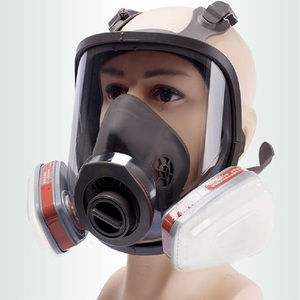Image 1 - 6800 Full Face piece Gas Mask Respirator filters 2091 Chemical Industrial Protective Spraying Paint Weld Lab Dust proof