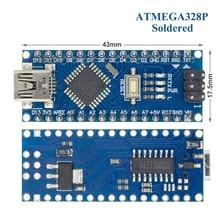 Chuyền! Bộ 50 Nano V3 3.0 Bộ Điều Khiển Tương Thích Nano CH340 Trình Điều Khiển USB Không Dây Nano V3.0