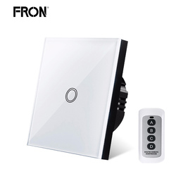 Smart Switch,Touch switch,EU/UK Standard 1/2/3 Gang RF433 Remote Control Wall Touch Switch,Smart Home Wireless Remote Control