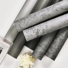 Papel pintado autoadhesivo tienda de ropa papel pintado gris nórdico industrial viento pegatina de pared decorativa habitación pared de cemento