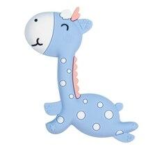 New Silicone Teethers Baby Cartoon Teether BPA Free Chew Charms Infant Teething Teeth Gift Toys
