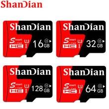 Cartão de memória esperto de shandian sd capacidade real 4gb 8gb 16gb 32gb tf cartão de memória flash drive vara de memória livre shiping