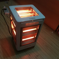 Floor Electric Heater Five sided Heating Type Fire Furnace Warmer Domestic Office Foot Warm Tool Home Portable Air Conditioner