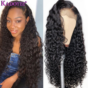 Image 4 - Парик из натуральных вьющихся волос на сетке спереди, 13 х6, короткий парик Боб, длинный вьющийся парик для женщин, бразильский парик с неповрежденными волосами спереди, предварительно выщипанные Детские волосы