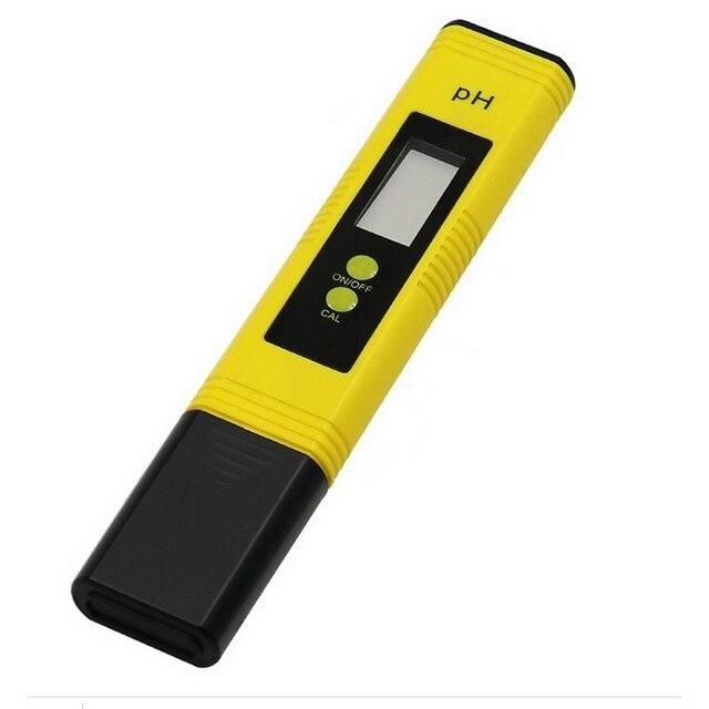 Фото цифровой ph метр с жк дисплеем измерительная ручка тестер точности цена