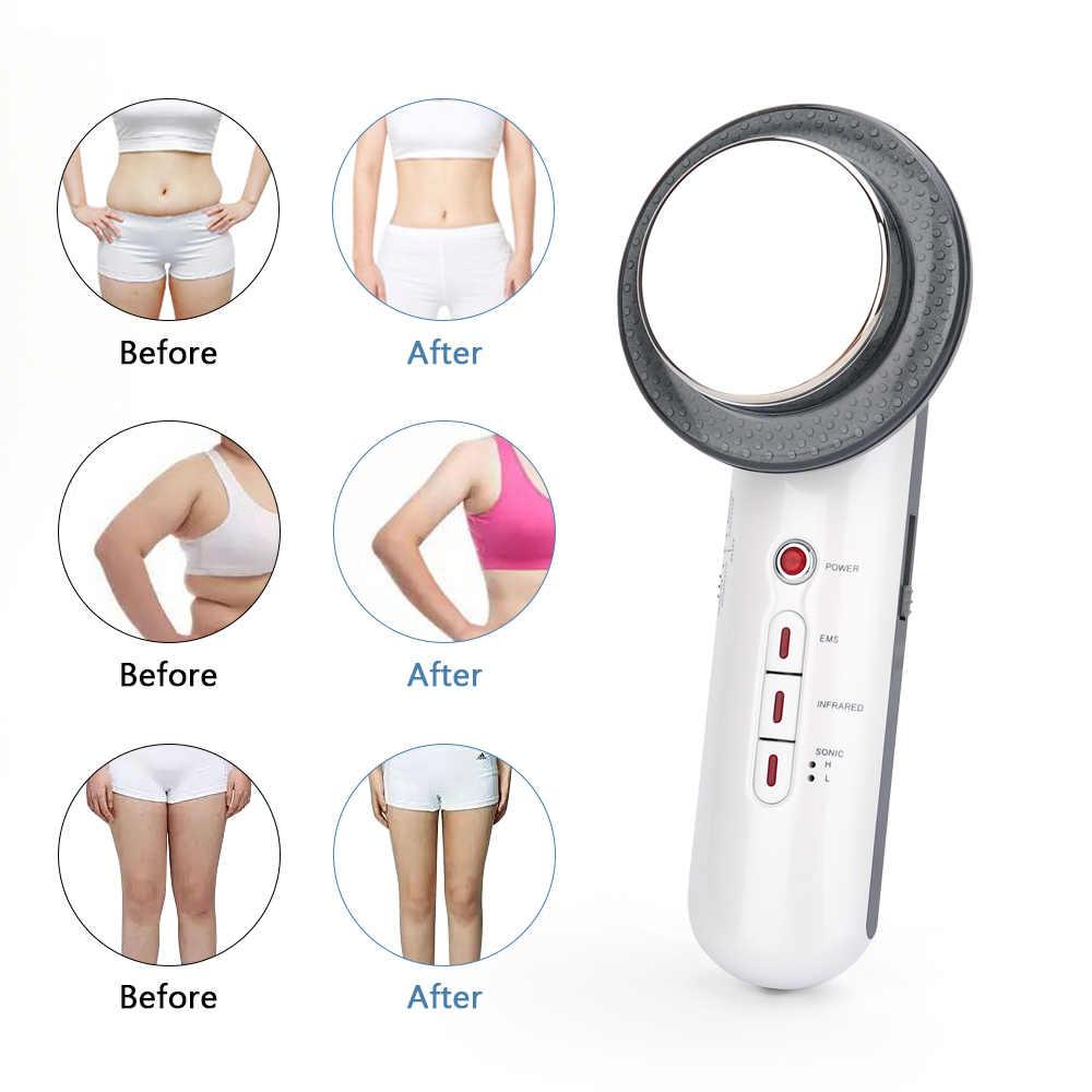 Ultra-som cavitação ems corpo emagrecimento massageador perda de peso anti celulite queimador de gordura terapia de onda ultra-sônica infravermelho galvânico