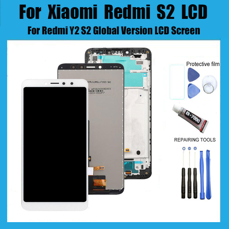 """5.99"""" For Xiaomi Redmi S2 LCD Display+Touch Screen Digitizer Assembly With Frame Replacement For Xiaomi Redmi Y2 LCD