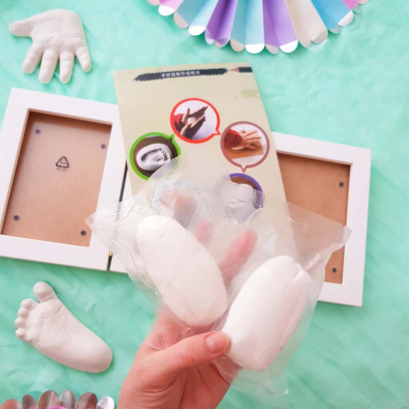 Handprint Footprint Children's Photo Frame 2