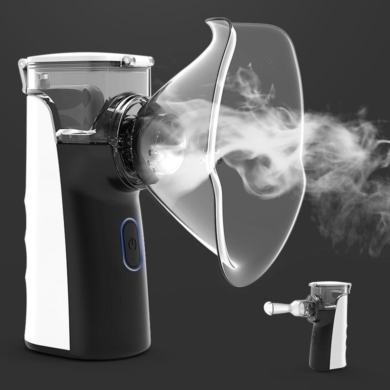 BGMMED Mini Portable Nebulizer Handheld Inhaler Nebulizer For Kids Adult Atomizer Nebulizador Medical Equipment Asthma