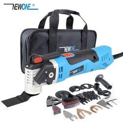 Conjunto NEWONE, recortador oscilante de sierra eléctrica multifunción, herramienta de renovación de hogar, herramienta de carpintería, dos colores, entrega aleatoria