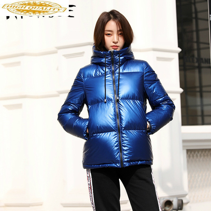 White Goose Down Jacket Women Winter Coat Women Down Coat Korean Puffer Jacket Warm Parka Chaqueta Mujer YY1466