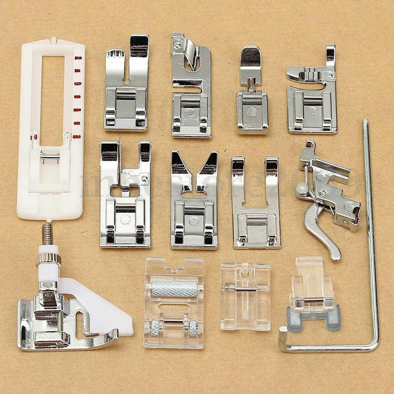 14Pcs Snap Presser Foot Set For VIKING HUSQVARNA Sewing Machines 335 330 325