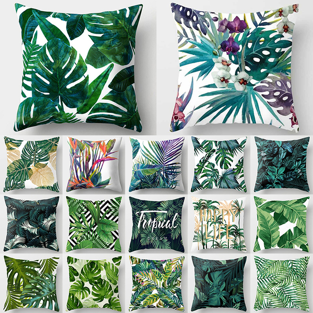 Floral Printed Cushion Cover 1