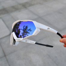 2019 Brand Cycling Glasses Cycling Eyewear 3 Lens Cycling Sunglasses Coated Mirr