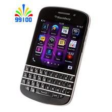 Original Unlocked cell phone Blackberry Q10 Qwerty keypad 2G/3G network Dual Core 8MP 16GB ROM 2GB RAM Smartphone