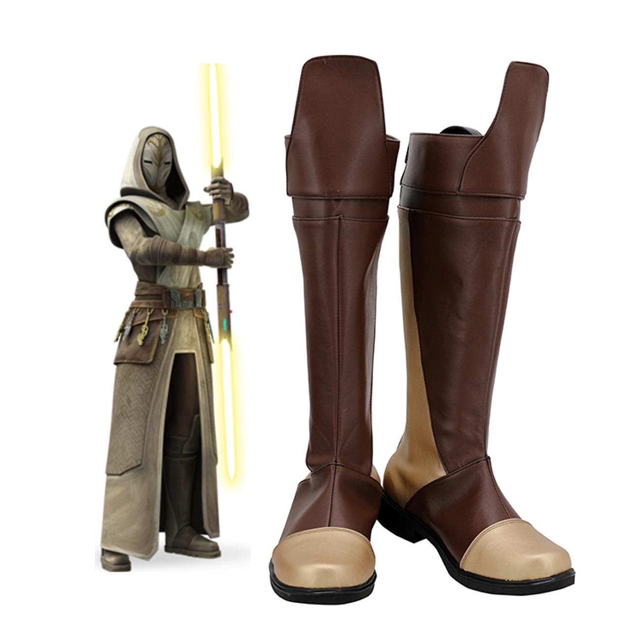 Star Wars The Last Jedi Elite Praetorian Guard Cosplay Shoes Men Boots Custom Made