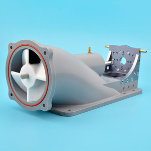 Image 2 - Msq Goede Kwaliteit Grey 85Mm Water Jet Thruster Met 8Mm Roestvrijstalen As Voor Boot Surfplank Rc Model boot