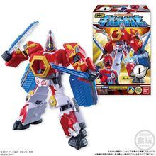 Bandai super sentai uchu sentai kyuranger gigant houoh montado modelo brinquedos