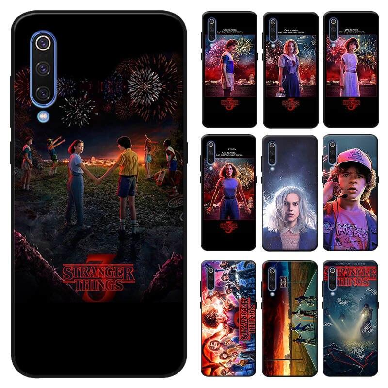 Stranger things coque de téléphone Pour samsung galaxy a50 a70 a30 a40 a20 s8 s9 s10 plus Housse en silicone Souple