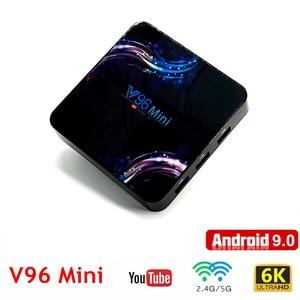 Mini TV Box Android 9.0 Suppor
